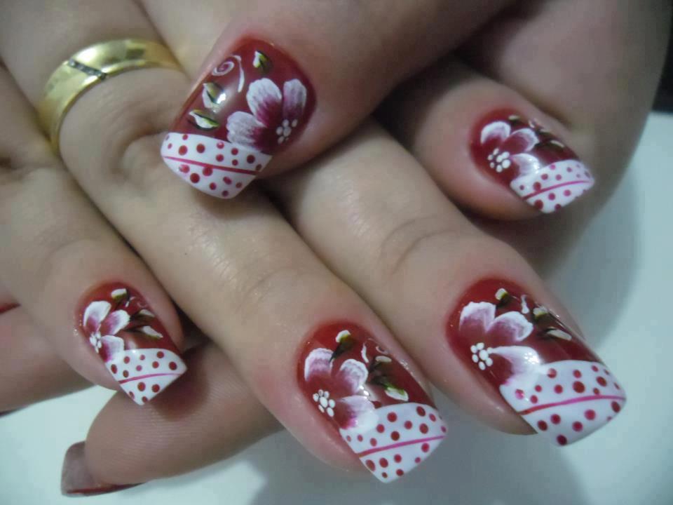 decoracao em unha branca : decoracao em unha branca:10 modelos de unhas decoradas para as noivas brilharem