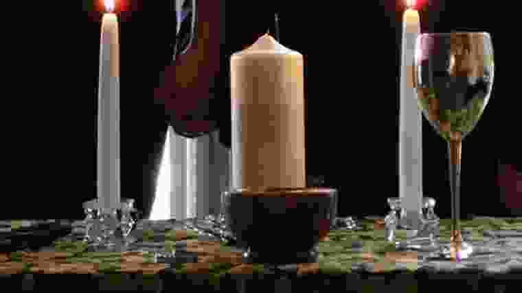 Decoração de velas para casamento