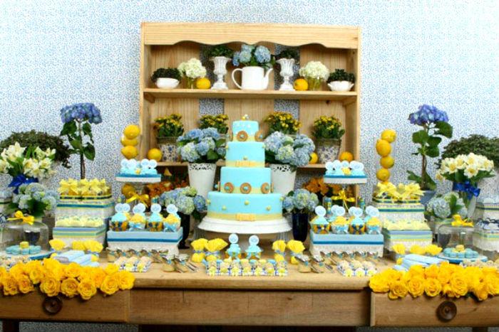 decoracao casamento azul turquesa e amarelo : decoracao casamento azul turquesa e amarelo:Amarelo + Azul Tiffany