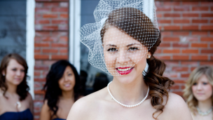 Make vintage para casamento