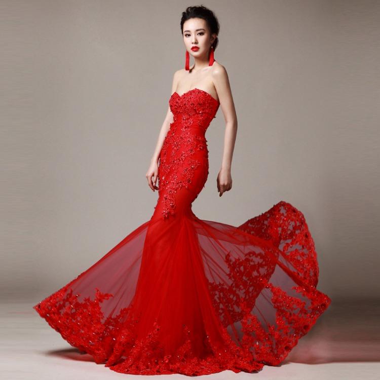 Casamento amarelo e vermelho a alegria em sintonia com o for Wedding dress red colour
