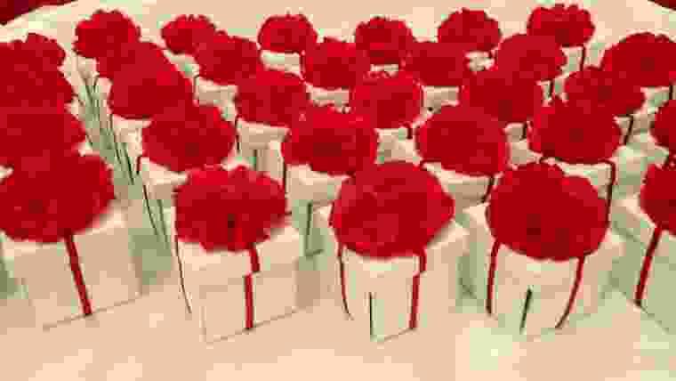 Lembrancinhas de flores