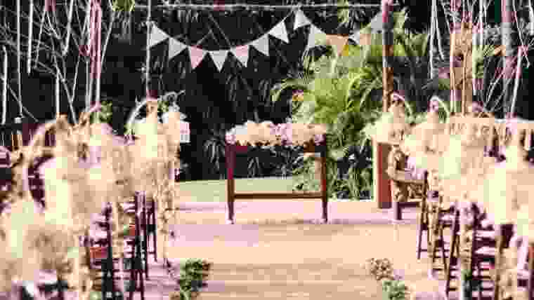 Mini wedding como decorar