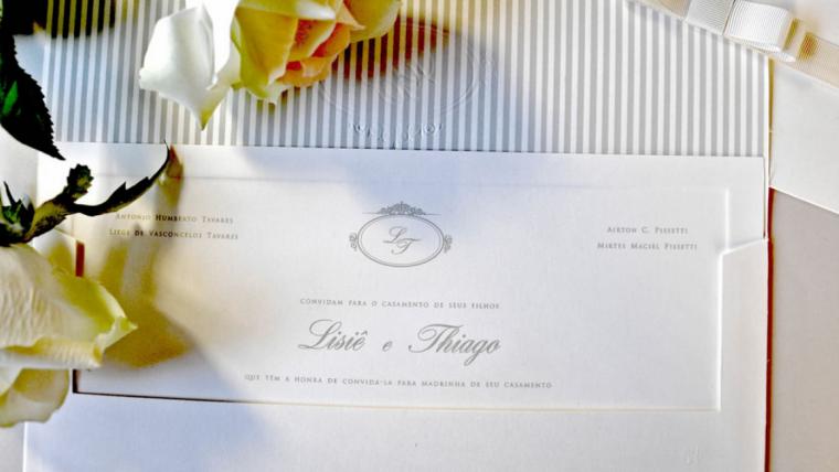 Convites de casamento com frases