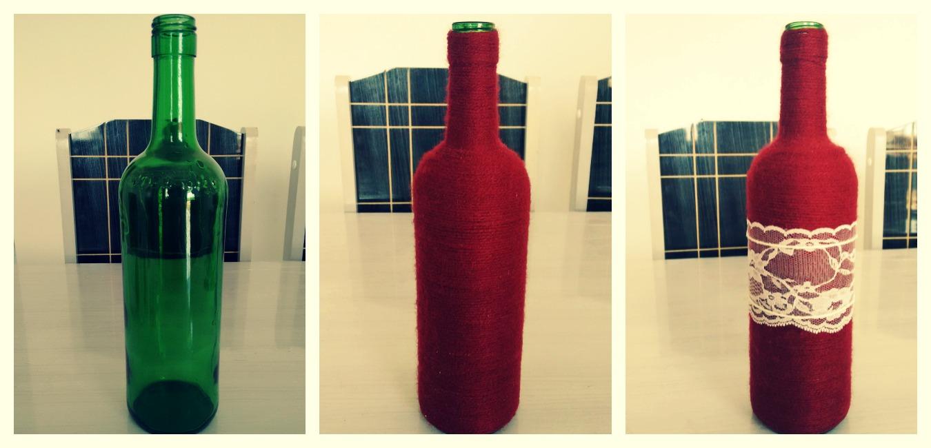 decoracao casamento garrafas de vidro:Aprenda a customizar garrafas para decoração de casamento