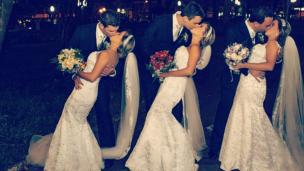 casamento trigemeas