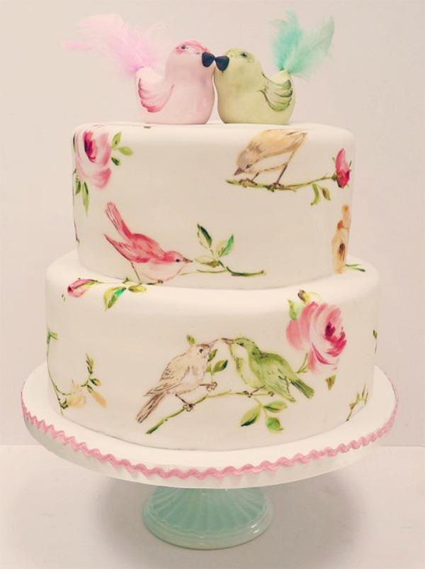 Light pastel green cake ideas and designs - 7 Irresist 237 Veis Bolos Decorados De Casamento Com Pasta