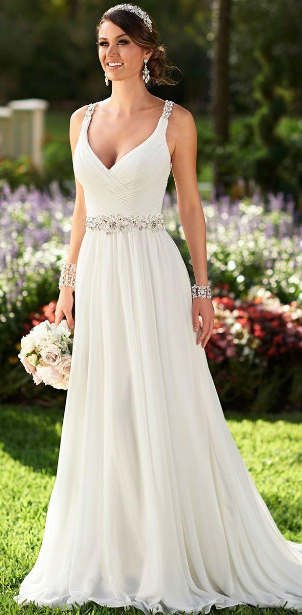 8 inspiradores vestidos para noivas com cinto