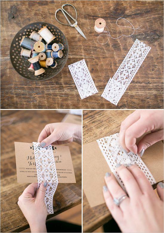 Gostou das ideias em DIY para o seu convite de noivado? Experimente um