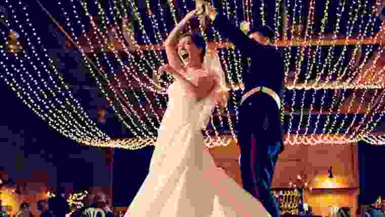 iluminação de casamento