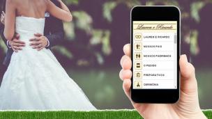 aplicativo de casamento
