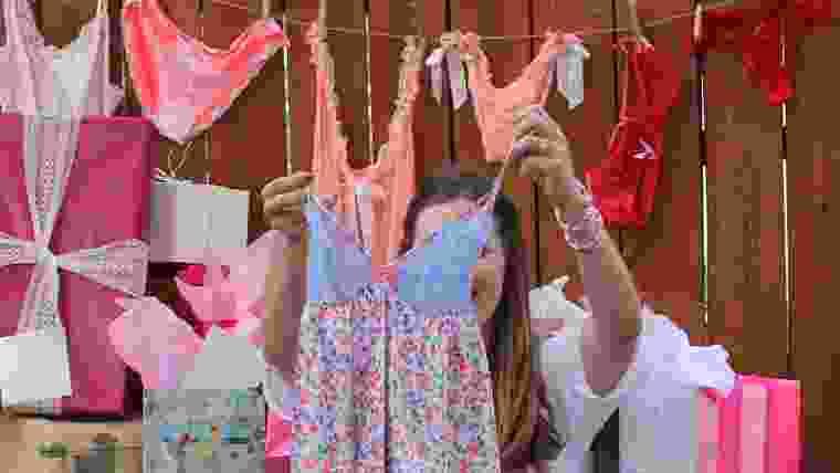 como organizar chá de lingerie