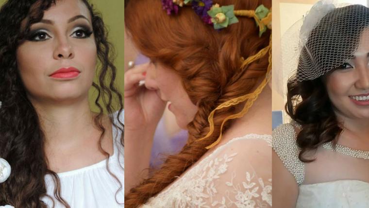 penteados para casamento no civil