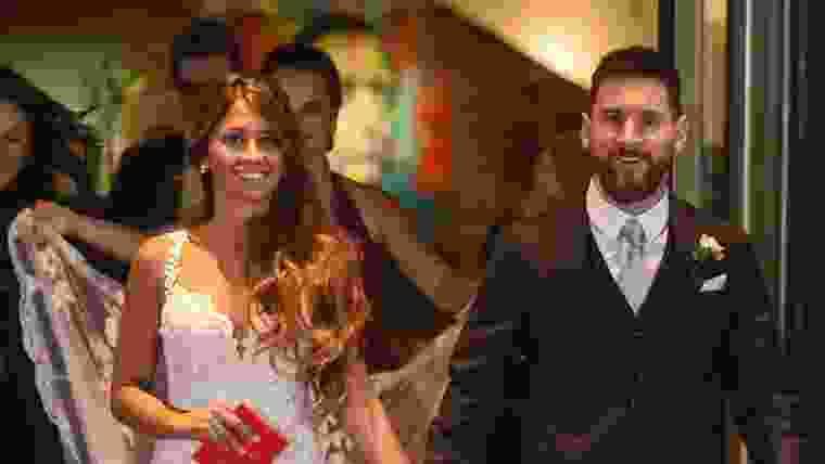 Casamento de Messi e Antonella
