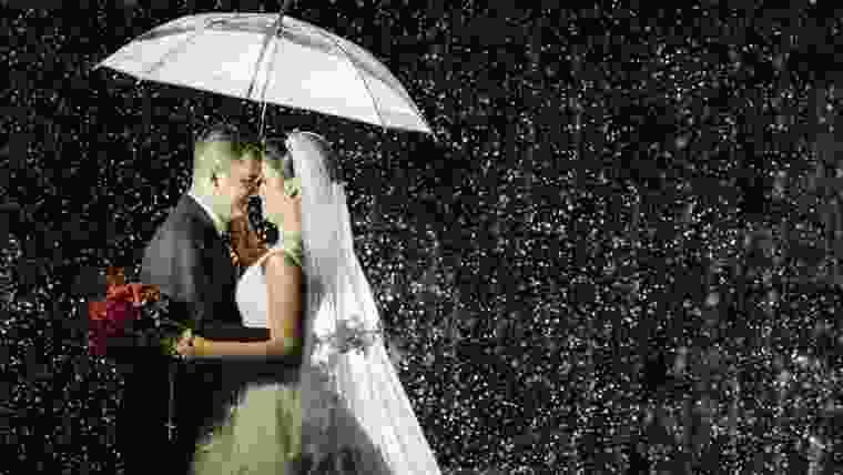 Casamento em dia de chuva da Vanessa e do Vitor