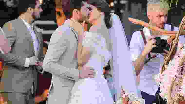 Casamento Camila Queiroz e Klebber Toledo em Jericoacoara