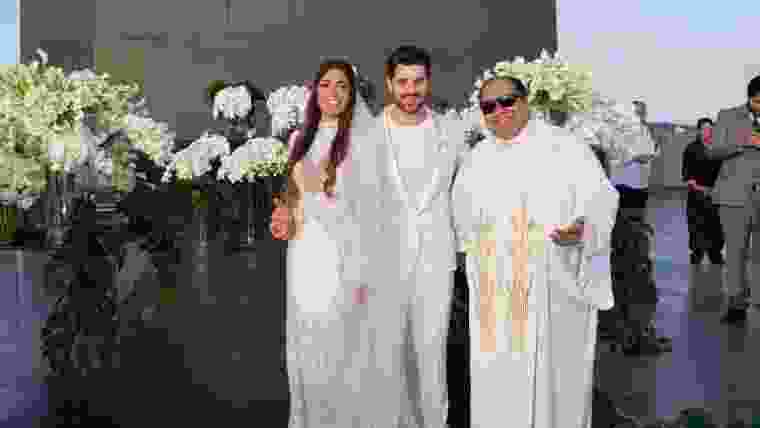 Dj Alok e Romana se casam