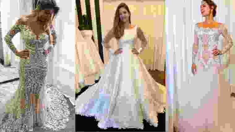 Tendencias de vestidos de noiva para 2020