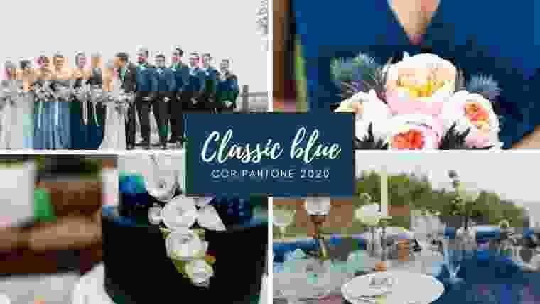 Classic blue cor Pantone 2020