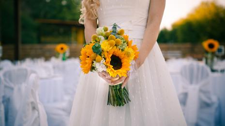 Vestido simples para casamento civil